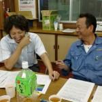 熱く語る坂田さんと椎葉さん