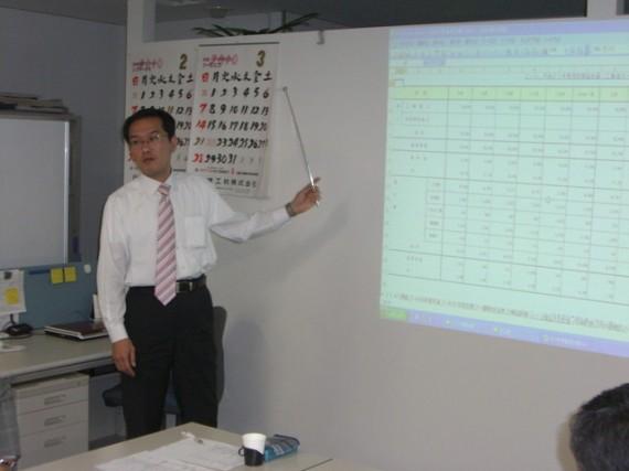尾崎経営戦略委員長によるアドバイス