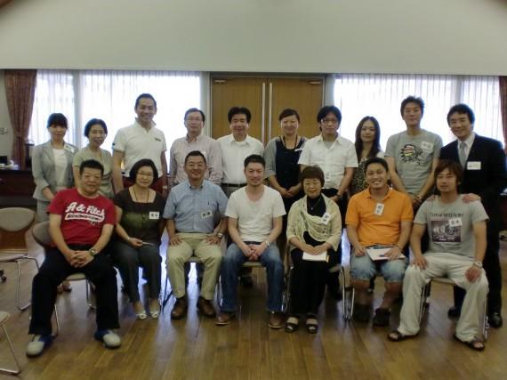 2010大阪CCLEXのメンバーです
