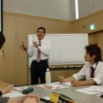 熱い講義をいただきました