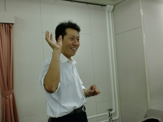 語る松岡院長