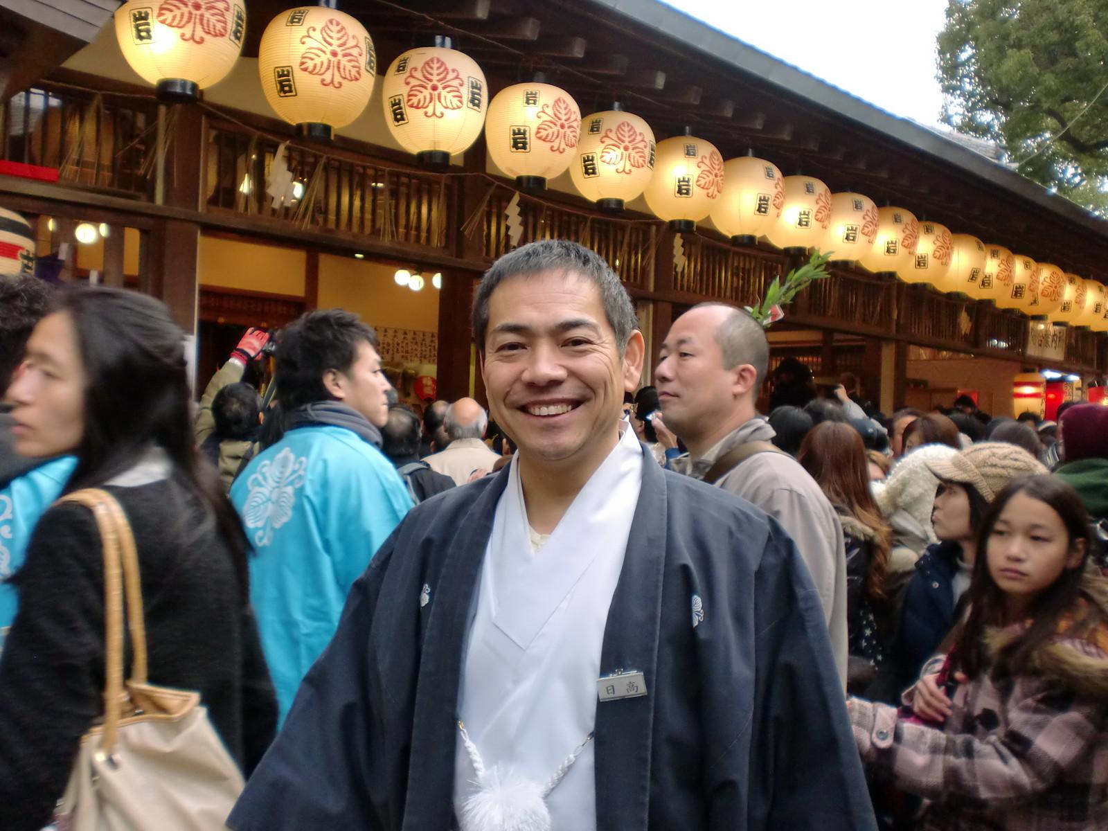 2010年最初のブログは十日恵比須大祭です