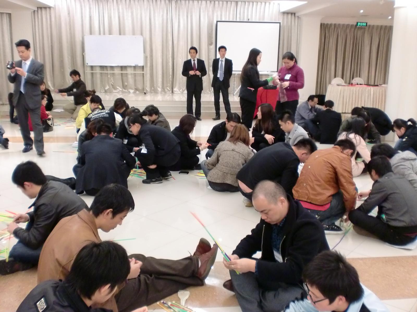 中国の会社の社員研修に参加しました