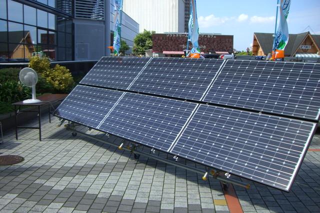 太陽光発電システムの展示会を覗いてきました。