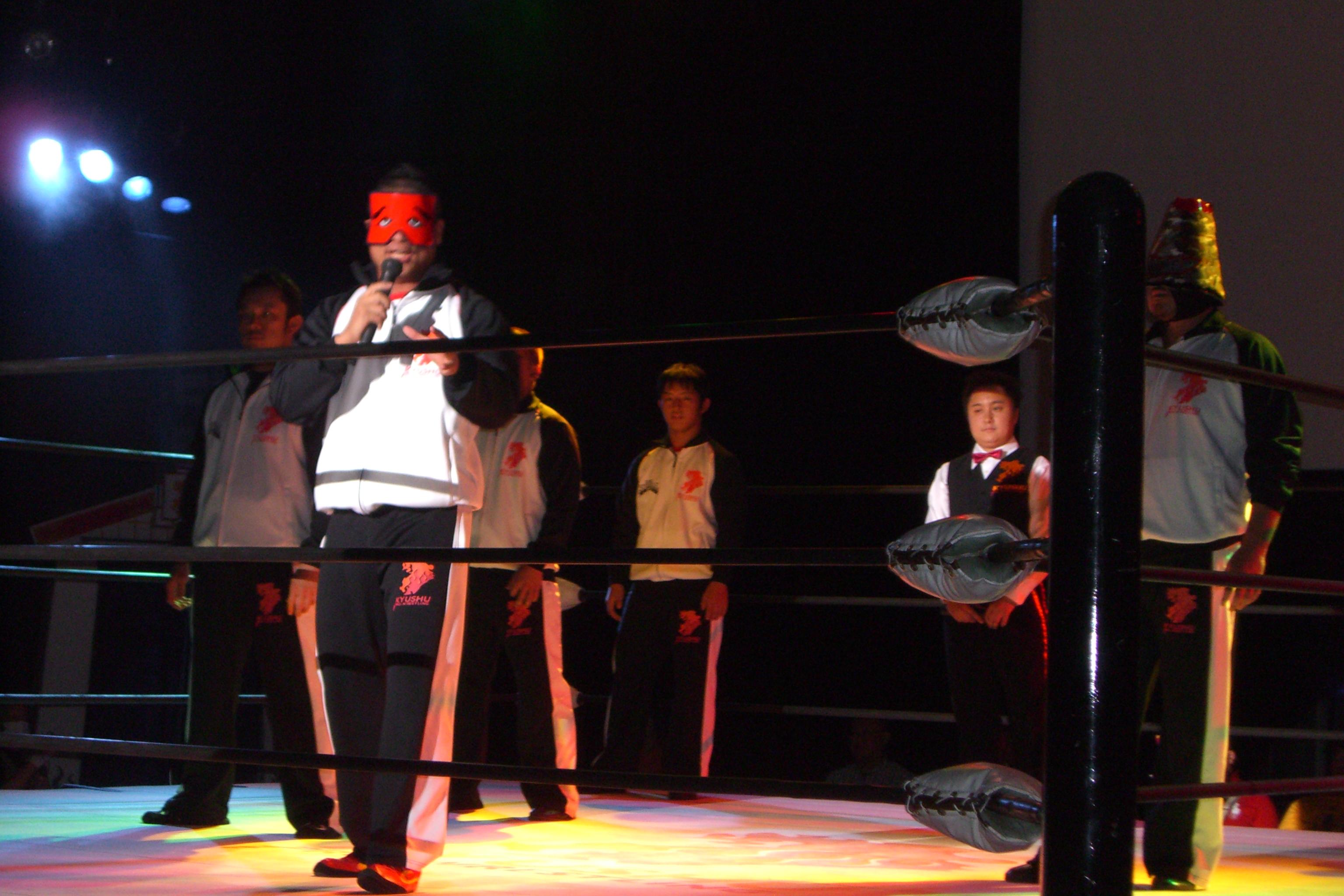 九州プロレス観戦しました。