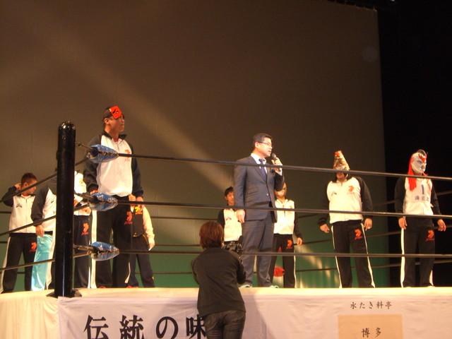九州プロレス「筋肉須惠まつり」を観戦しました。