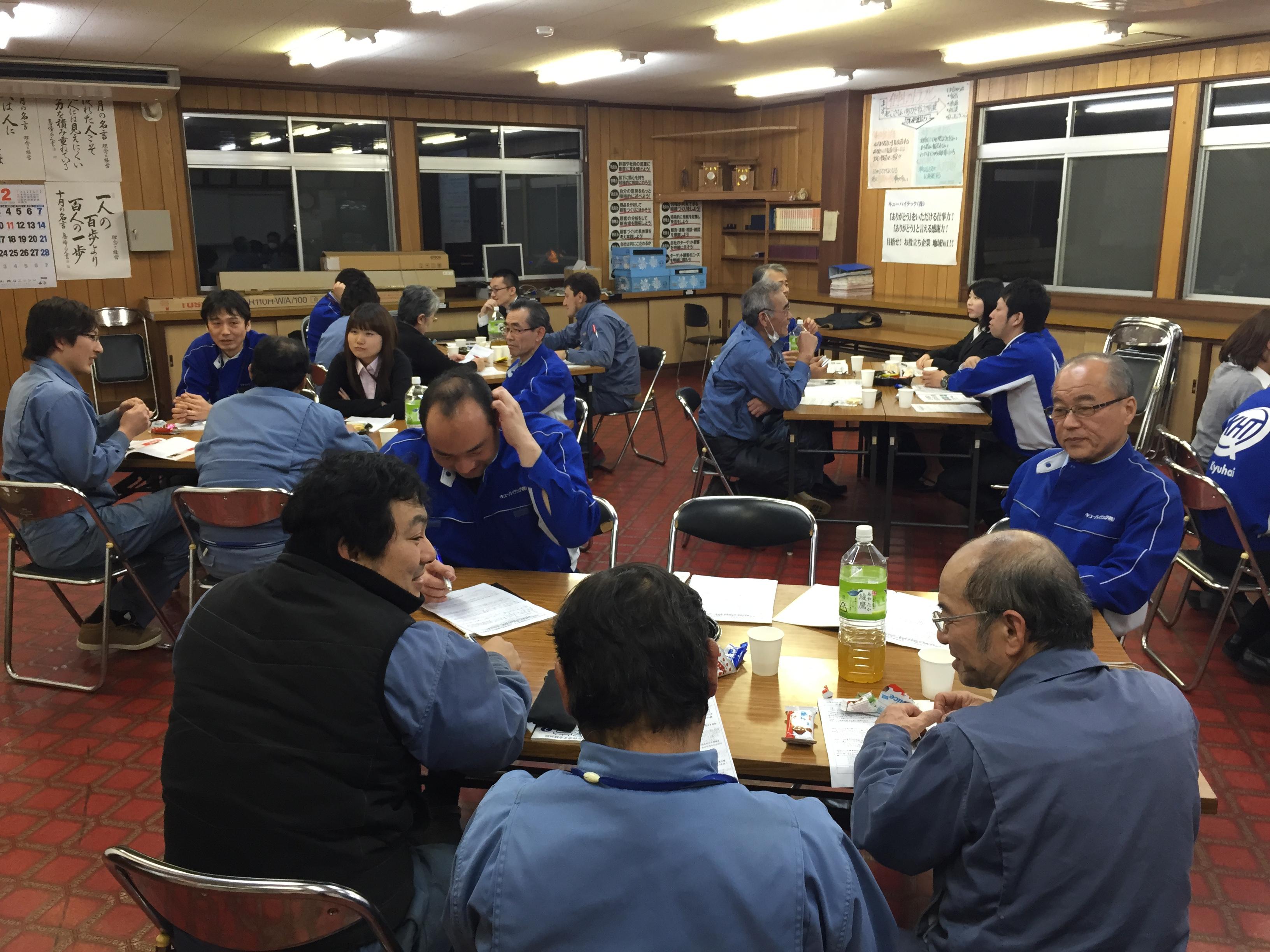 2月社内勉強会を開催しました。