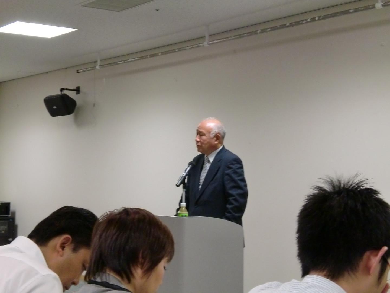 芳村思風先生の講演会に参加しました