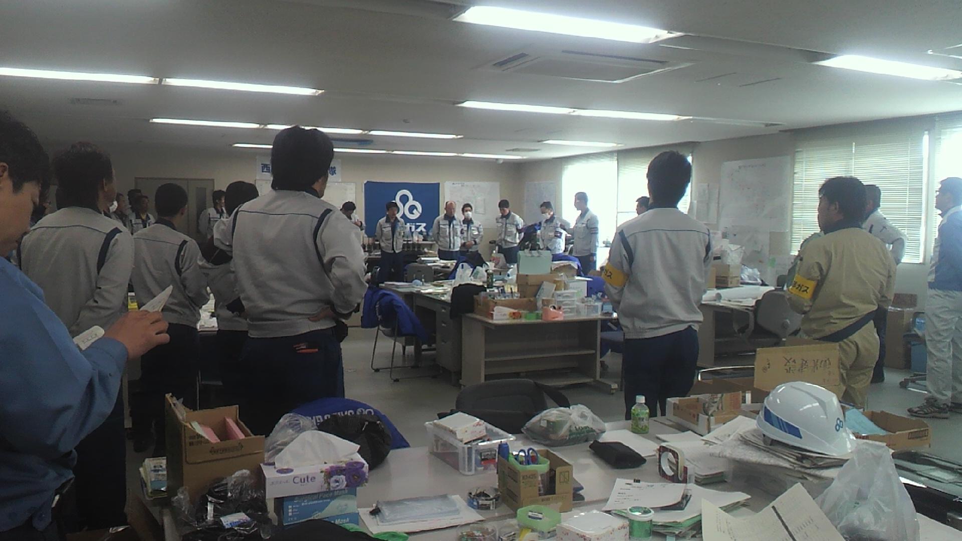 今日も被災地より野川彰さんからのメールです。