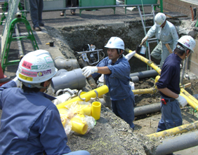 Town Gas・LPG Facilities Work・Design and Construction